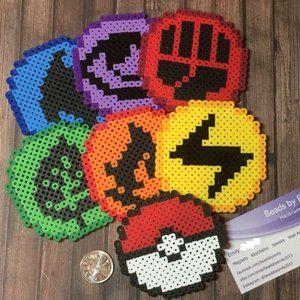 Pokemon Fridge Magnets - Nerdy Geeky Home Decor